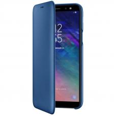 Чехол Samsung Galaxy A6 Wallet Cover Blue