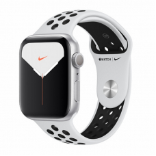 Apple Watch S5 NIKE 44mm Silver Aluminum / Pure Platinum Sport Band