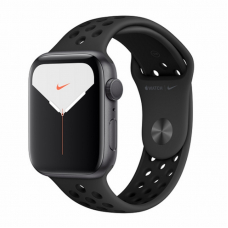 Apple Watch S5 NIKE 44mm Space Gray Aluminum / Black Sport Band