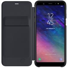 Чехол Samsung Galaxy A6 Plus Wallet Cover Black